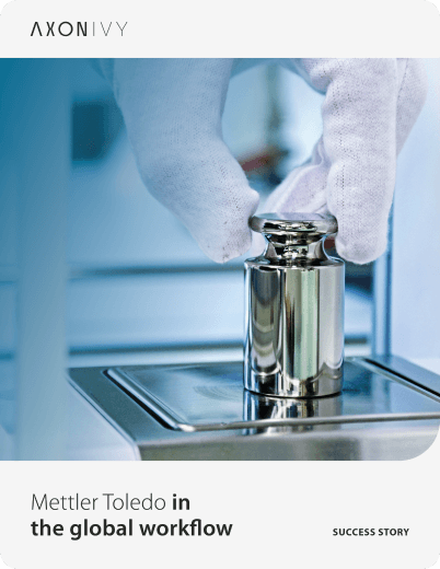 METTLER TOLEDO in global workflow