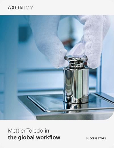 METTLER TOLEDO in global workflow